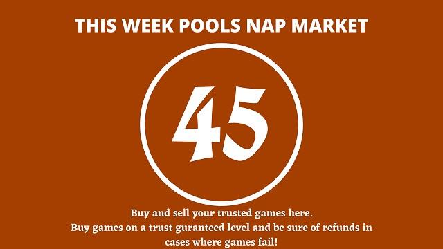 week 45 pool nap market 2021