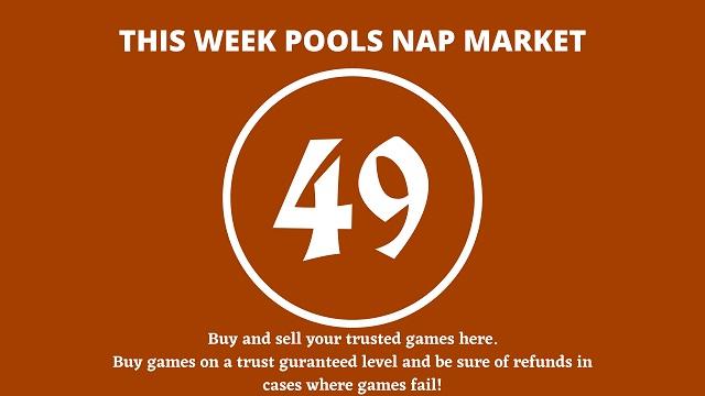 week 49 pool nap market 2021