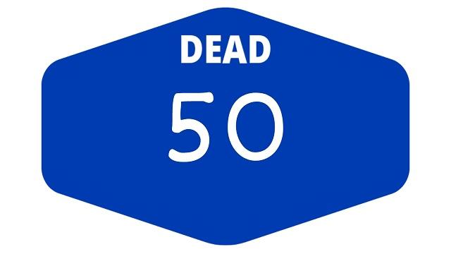 week 50 dead games 2021
