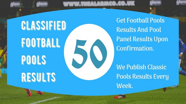 week 50 pool result 2021