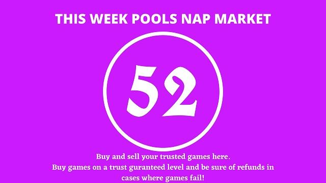 week 52 pool nap market 2021