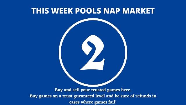 week 2 pool nap market 2021