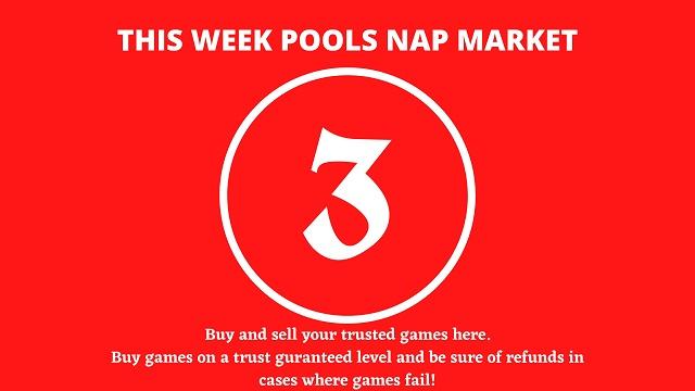 week 3 pool nap market 2021