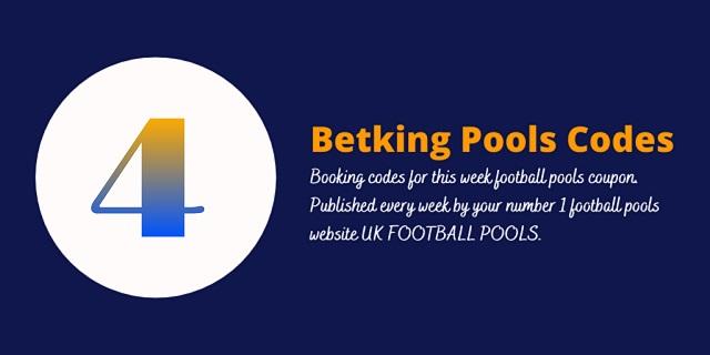 week 4 betking code 2021