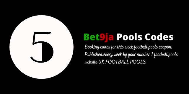 week 5 bet9ja code 2021