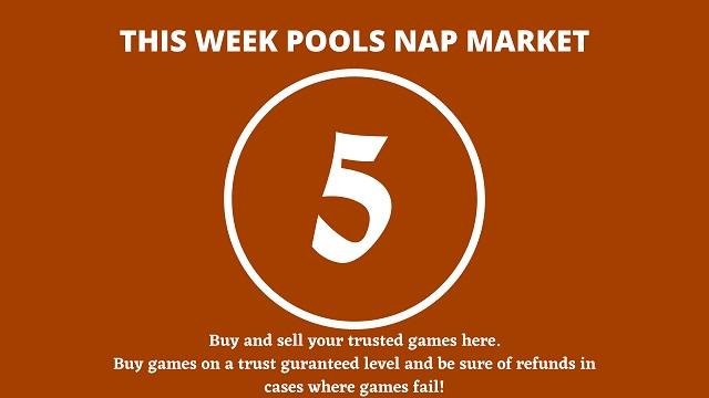 week 5 pool nap market 2021