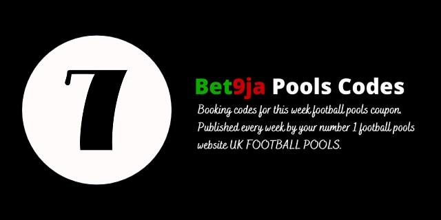 week 7 bet9ja code 2021