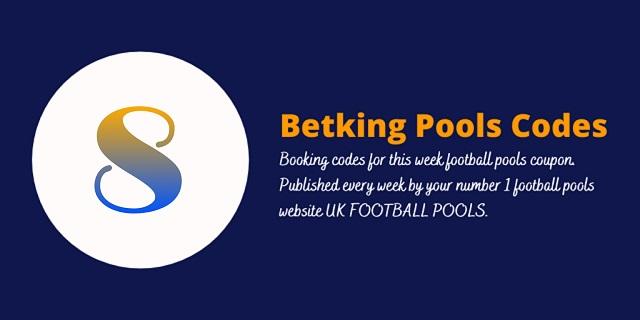 week 8 betking code 2021