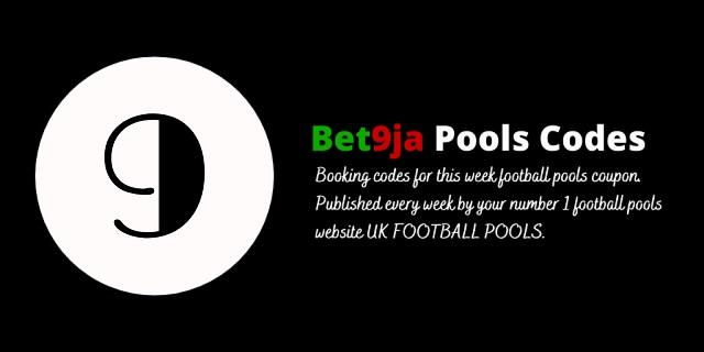 week 9 bet9ja code 2021