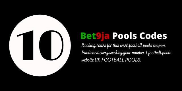 week 10 bet9ja code 2021