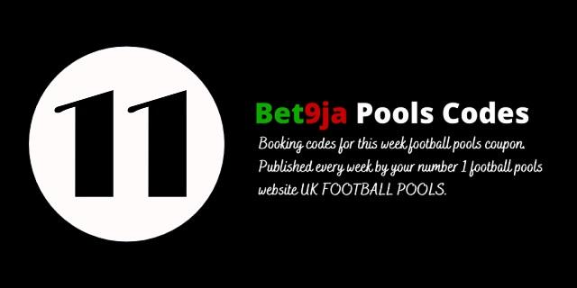 week 11 bet9ja code 2021