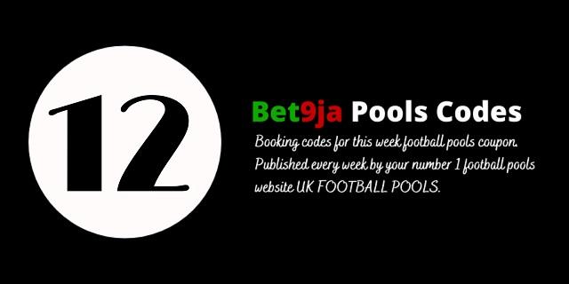week 12 bet9ja code 2021