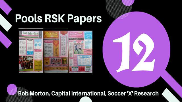 week 12 rsk papers 2021