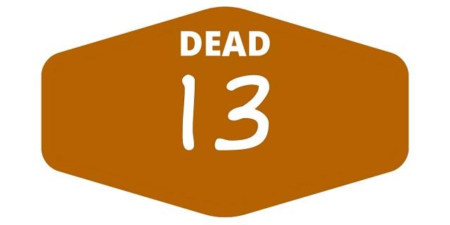 week 13 dead games 2021