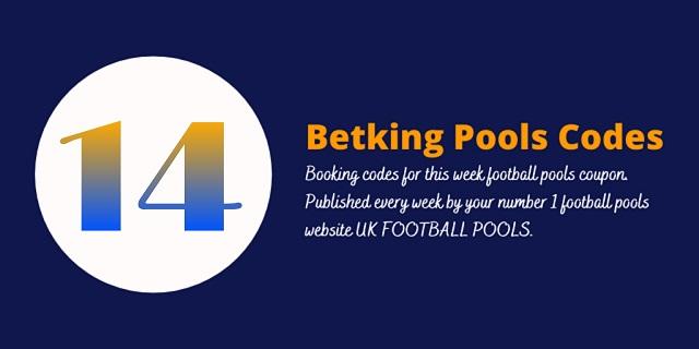 week 14 betking code 2021