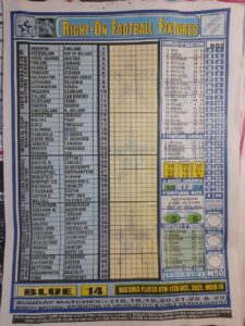 week 14 right on fixtures 2021 front page