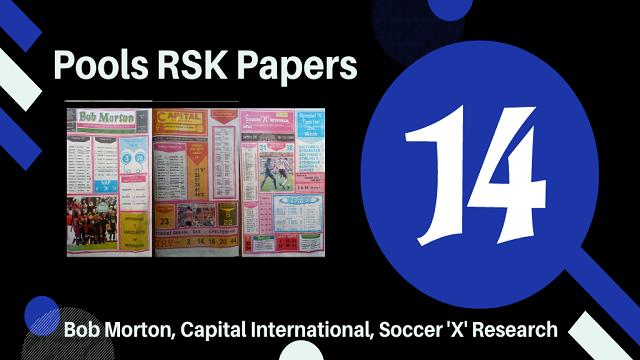 week 14 rsk papers 2021