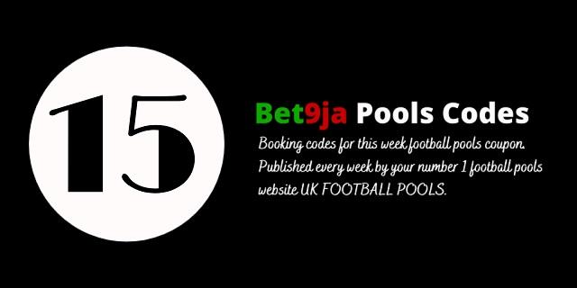week 15 bet9ja code 2021